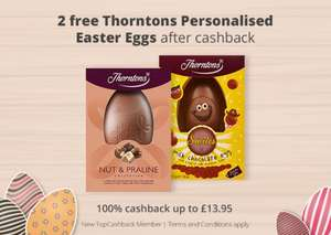 Free thorntons easter eggs - Topcashback (New members)