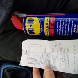 WD40 smart straw 400ml £1 instore @ Tesco