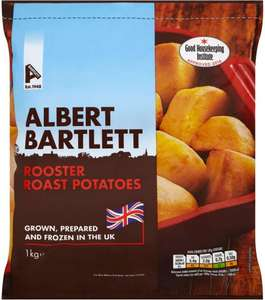 Albert Bartlett Rooster Roast Potatoes (1Kg) (Frozen) was £2.00 now £1.00 (Rollback Deal) @ Asda