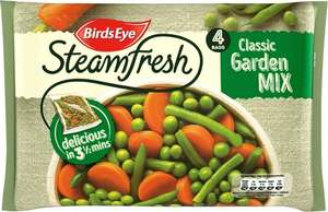 Birds Eye Steamfresh Classic Garden Mix (4 per pack - 540g) ONLY £1.00 @ Asda
