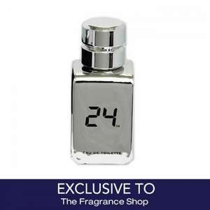 24 Platinum 50ml EDT £8 + 20% Off Code, £9.39 Delivered, Or Free Click & Collect To Store £6.40 @ The Fragrance Shop