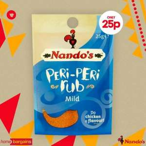 Nando's Peri Peri rubs only 25p @ home bargains