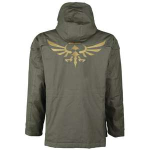 The Legend of Zelda Parka £54.38 delivered @ EMP with code (£75+ elsewhere)
