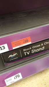 "3 shelf tv stand upto 47"" tv £10 instore @ sainsburys"