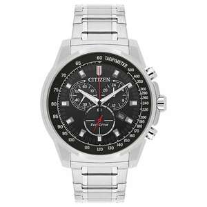 Citizen Eco Drive Gent's Stainless Steel Bracelet Watch, £99.99 from H.Samuel