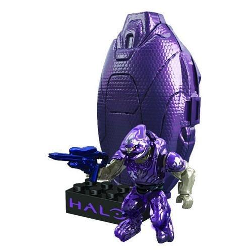 Mega Bloks Halo Grenade Metallic Series Figure - Purple £2 (rrp £6.99) @ The Works (Free C+C)