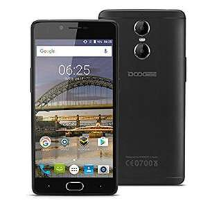 AliExpress/ Store: Doogee JOANNA Store £77.67 Budget Smartphone with Samsung Camera - DOOGEE Shoot 1 - 5.5 inch Full HD - Dual Camera - 4G - Android 6.0 Marshmallow - MT6737T Quad Core 1.5GHz - 2GB RAM - 16GB ROM - Front-facing Fingerprint - Quick Ch