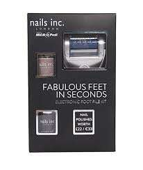Boots Nails inc micro pedi with 2 x nails inc polishes - 2 for £15