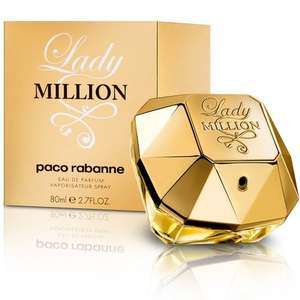 Paco Rabanne Lady Million Eau de Parfum for Women - 80 ml £47.39 @ Amazon (Sold by London In Uk and Fulfilled by Amazon)