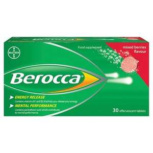 Berocca Only £2.10!!! + £3.95 Home Delivery usually £9+ @ LloydsPharmacy Online Only