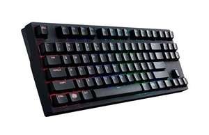 Cooler Master MasterKeys Pro S RGB TKL Mechanical Keyboard (MX Brown Switches) @ box.co.uk £88.99 & FREE DELIVERY