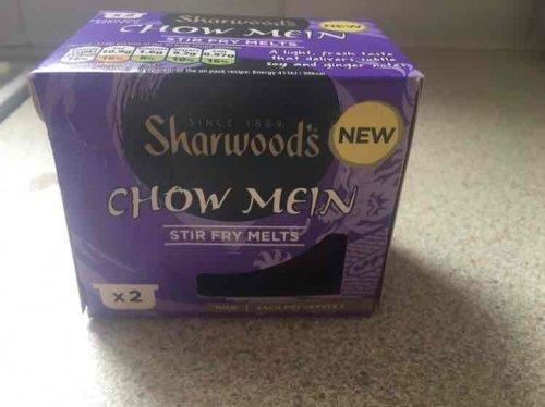 sharwoods chow mein stir fry melts - 39p instore @ Home Bargains