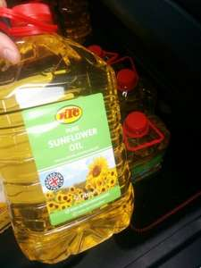KTC Pure Sunflower Oil (5L) (RollBack Deal)  was £6.00 now £3.80 @ Asda