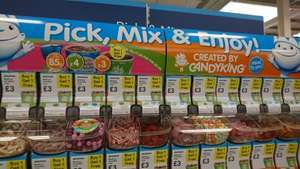 Candy King Pick and Mix Buy one get one free on medium cups £3 at Tesco