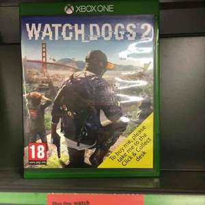 watchdogs 2 deal X1/PS4 £24.99 Sainsbury's