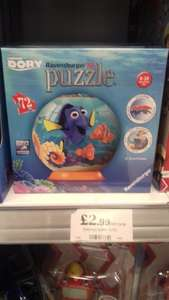 Finding Dory 3d ravensburger puzzle  £2.99 instore @ home bargains