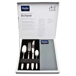 Denby Eclipse 16 piece cutlery set was £80 now £24 @ Debenhams (free C&C)