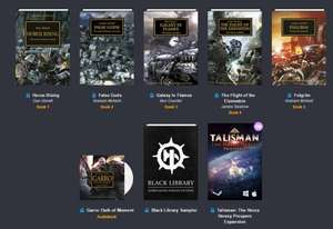 Warhammer Horus Heresy Books/Audiobooks (£0.80) @ Humblebundle