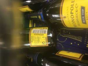 Heidsieck Blue Top Champagne reduced from £25 to £10 instore at Tesco (Basildon)