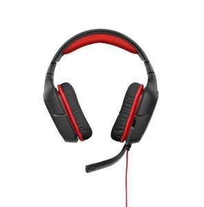 Logitech G230 Stereo Gaming Headset - Black/Red - £26.99 - Deal of the day @ Amazon