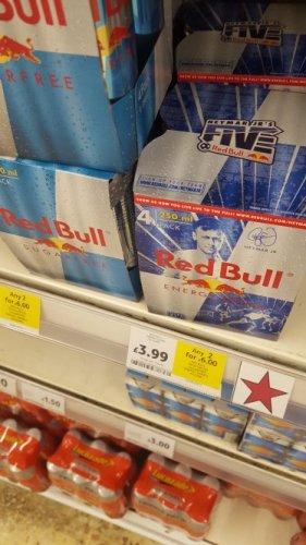 Red Bull 250ml x 8 for £6 in Tesco instore