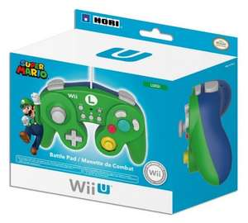 Hori Luigi Classic Controller (Wii U) £17.99 delivered using code @ Argos eBay