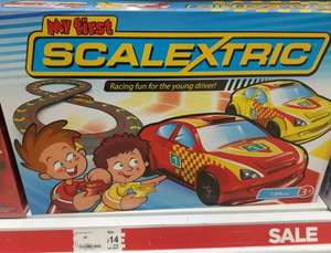 My first scalextric reduced to £14 @ asda kingswood hull