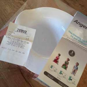 AngelCare Potty - Pink £4.38 instore Tesco (Warrington)