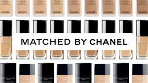 Chanel fluid foundation sample