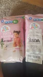 little angel potty training pants 97p instore @ Asda
