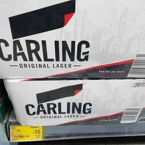 Carling 20x 440ml cans £10 instore @ Asda