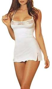 RZS ladies lingerie Chemise dress was £20.00 now £8.99 prime / £12.98 Sold by RUZISHUN Trade Company and Fulfilled by Amazon