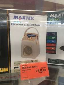 Maxtek Cream DAB & FM Radio £15 @ Aldi - Cambridge