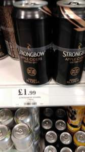 Strongbow cider 4x440ml cans for £1.99 instore at Home Bargains