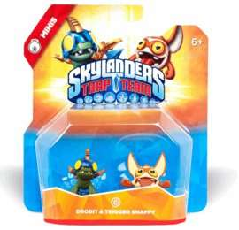 (OOS) Skylanders Trap Team Minis Double Pack - Drobit and Trigger Snappy £1.49 Delivered @ Game