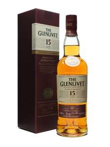 GLENLIVET 15 YEAR OLD  French Oak Whisky 70cl £23.10 Tesco Instore
