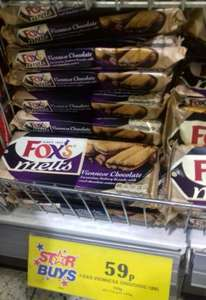 Fox's viennese choc biscuits 120g 59p @ home bargains instore.