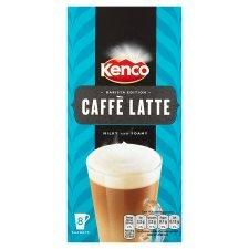 Kenco Caffe Latte 8 Sachets 158G £1 @ tescos instore