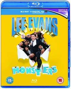 Lee Evans - Monsters / Roadrunner (Blu-Ray) £1.19 Each Delivered (Used) @ Music Magpie