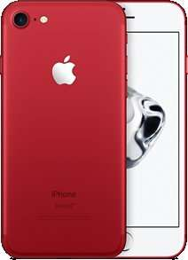 Iphone 7 128gb (PRODUCT) RED unlimited minutes unlimited texts 20gb data £0 handset cost 40.99pm from £736.80 @ EE