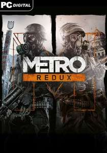 Flash sale: Metro Redux Bundle Steam Key @ gamesplanet for £4.49 (-82%)