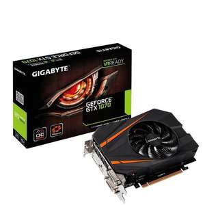 Gigabyte GTX 1070 8GB Mini ITX with free Ghost Recon or For Honor £314.17 @ Amazon.fr (Prime)