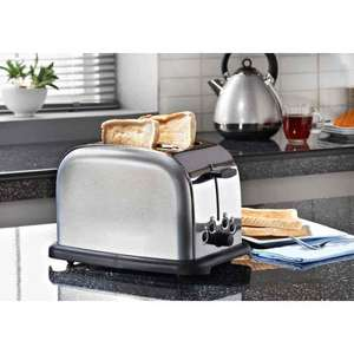 Prolex Sparkle 2 Slice Toaster - Silver  £1.00 @ B&M