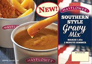 Mayflower Southern (KFC) style gravy mix, makes 1.6L 99p @ Home Bargains