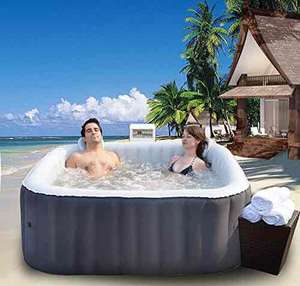 Inflatable Hot Tub Spa 158 x 158cm with Heating Function for 4People Self Inflating £329.90 Sold by Beauty-4-Less and Fulfilled by Amazon