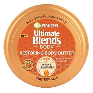Garnier Body Ultimate Blends Restoring Butter 200ml £2.99 Add-on/£2.54 Subscribe&Save @ Amazon Prime