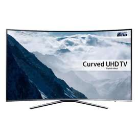 """Samsung UE43KU6500 Curved HDR 4K Ultra UHD Smart TV 43"""" with Freeview & freesat HD & Active Crystal Colour £449 delivered @ Game sold by Hughes"""