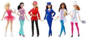 Barbie Career dolls £5 instore @ Sainsburys (Durham)