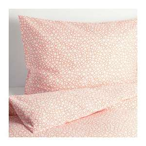 TRÄDASTER Orange Quilt cover and 2 pillowcases £4 @ IKEA (Delivery is additional £7.50)
