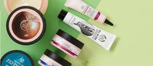 Body shop - 50% off sale plus an extra 40% off